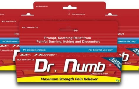 dr numb - cremes anesthesiante USA