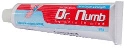 tube dr numb