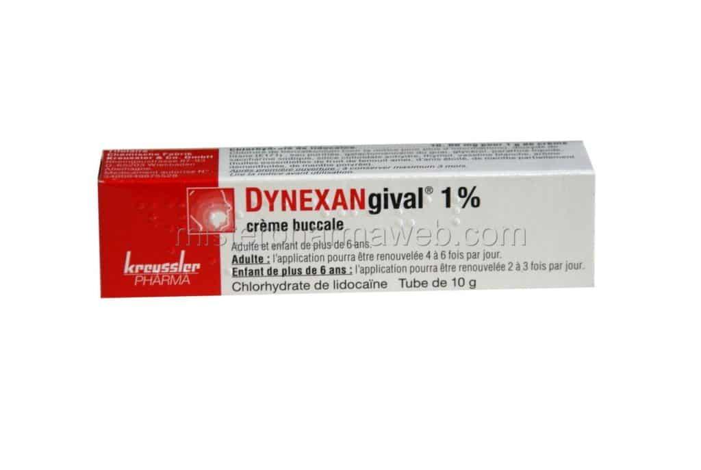 creme anesthesiante dynexan 1% sans ordonnace