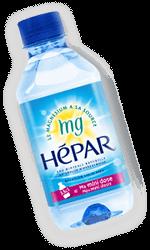 mini bouteille d'hepar