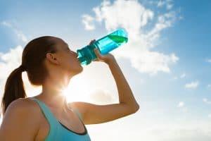 boire de l'eau contre la cystite