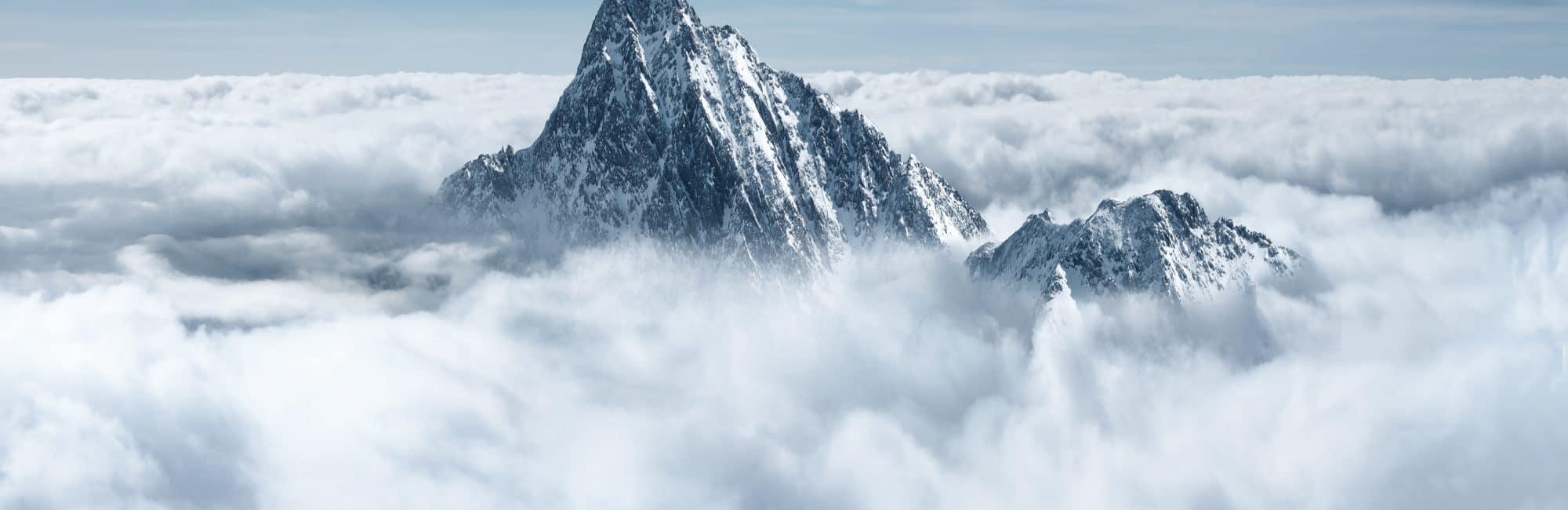 Haut sommet de montagne