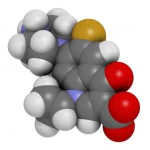 Ciprofloxacine molécule